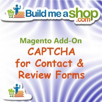 Contact Form CAPTCHA Build Me A Shop Add-On
