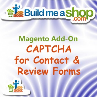 Contact Form CAPTCHA Build Me A Shop Add-On